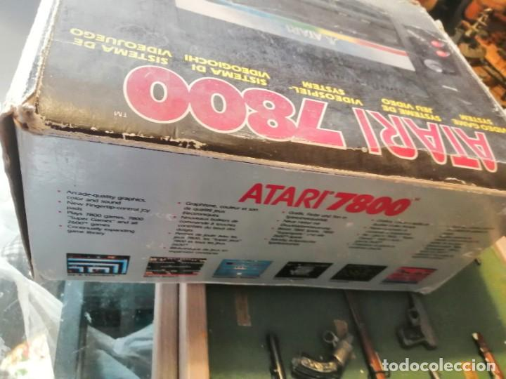 Videojuegos y Consolas: CONSOLA ATARI 7800 COMPLETA CON CAJA Y JUEGOS - Foto 8 - 244542195