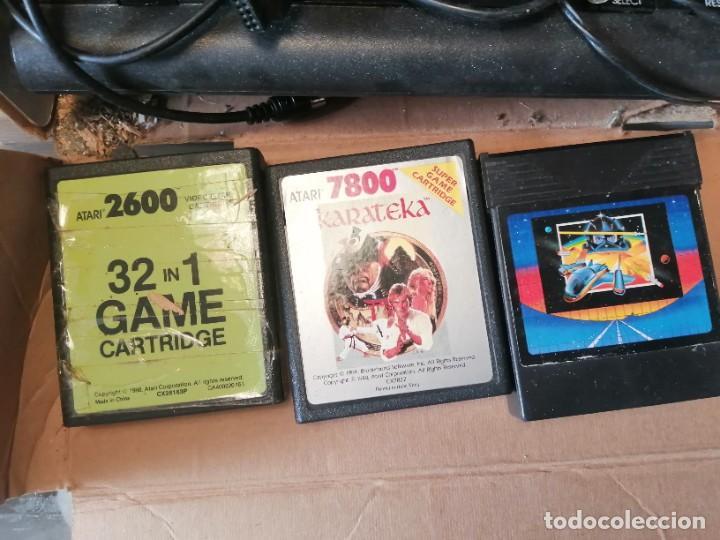 Videojuegos y Consolas: CONSOLA ATARI 7800 COMPLETA CON CAJA Y JUEGOS - Foto 9 - 244542195