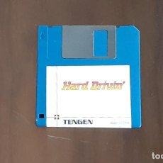 Videojuegos y Consolas: HARD DRIVIN' [TENGEN] - JUEGO ATARI ST - SIN CAJA. Lote 245514605