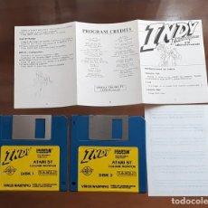 Videojuegos y Consolas: INDY THE ACTION GAME [LUCASFILM] - JUEGO ATARI ST - SIN CAJA. Lote 245514610