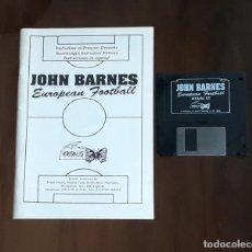 Videojuegos y Consolas: JOHN BARNES EUROPEAN FOOTBALL [KRISALIS SOFTWARE] - JUEGO ATARI ST - SIN CAJA. Lote 245514620