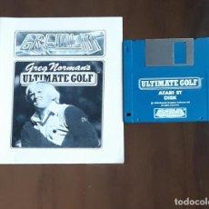 Videojuegos y Consolas: GREG NORMAN'S ULTIMATE GOLF [GREMLIN] - JUEGO ATARI ST - SIN CAJA. Lote 245514625