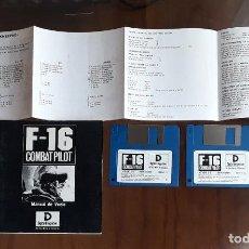 Videojuegos y Consolas: F-16 COMBAT PILOT [DIGITAL INTEGRATION] - JUEGO ATARI ST - SIN CAJA. Lote 245514630