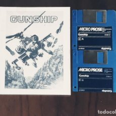 Videojuegos y Consolas: GUNSHIP [MICRO PROSE] - JUEGO ATARI ST - SIN CAJA. Lote 245514670