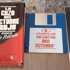 Videojuegos y Consolas: LA CAZA DEL OCTUBRE ROJO [GRANDSLAM] - JUEGO ATARI ST - CAJA PEQUEÑA. Lote 245514690