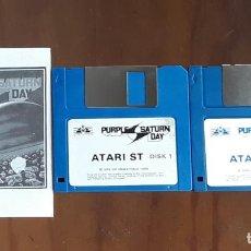 Videojuegos y Consolas: PURPLE SATURN DAY [EXXOS] - JUEGO ATARI ST - SIN CAJA. Lote 245514700