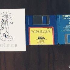 Videojuegos y Consolas: POPULUS+THE PROMISED LANDS [ELECTRONIC ARTS] - JUEGO ATARI ST - SIN CAJA. Lote 245514705