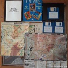 Videojuegos y Consolas: MIND GAMES(AUSTERLITZ/WATERLOO/CONFLICT EUROPE) [MIRRORSOFT] - JUEGO ATARI ST - CAJA MEDIANA Y FUNDA. Lote 245514710