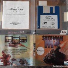 Videojuegos y Consolas: SHERMAN M4 [LORICIEL] - JUEGO ATARI ST - CAJA PEQUEÑA. Lote 245514715