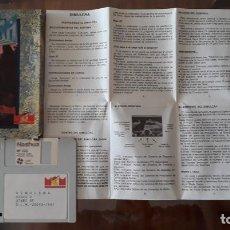 Videojuegos y Consolas: SIMULCRA [MCM SOFTWARE] - JUEGO ATARI ST - CAJA PEQUEÑA. Lote 245514720