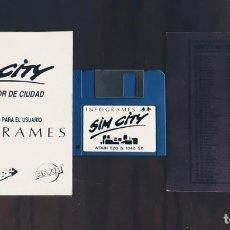 Videojuegos y Consolas: SIM CITY [INFOGRAMES] - JUEGO ATARI ST - SIN CAJA. Lote 245514725