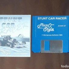 Videojuegos y Consolas: STUNT CAR RACER [MICRO STYLE] - JUEGO ATARI ST - SIN CAJA. Lote 245514730
