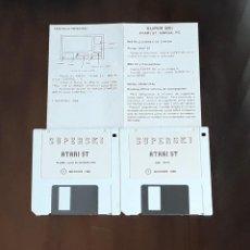 Videojuegos y Consolas: SUPER SKI [MICROIDS] - JUEGO ATARI ST - SIN CAJA. Lote 245514755