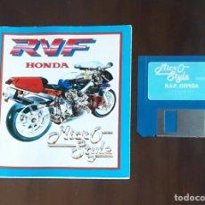 Videojuegos y Consolas: R.V.F. HONDA [MICRO STYLE] - JUEGO ATARI ST - SIN CAJA. Lote 245514760