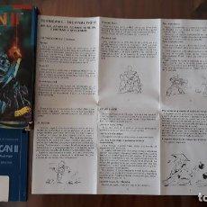 Videojuegos y Consolas: TURRICAN II [RAINBOW ARTS] - JUEGO ATARI ST - CAJA PEQUEÑA. Lote 245514775