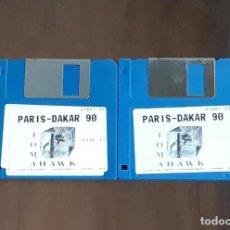 Videojuegos y Consolas: PARIS-DAKAR 90 [TOMAHAWK] - JUEGO ATARI ST - SIN CAJA. Lote 245514780