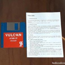 Videojuegos y Consolas: VULCAN [CCS] - JUEGO ATARI ST - SIN CAJA. Lote 245514795