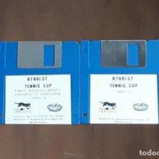 Videojuegos y Consolas: TENNIS CUP [LORICIEL] - JUEGO ATARI ST - SIN CAJA. Lote 245514805