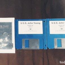 Videojuegos y Consolas: U.S.S. JOHN YOUNG [MAGIC BYTES] - JUEGO ATARI ST - SIN CAJA. Lote 245514815