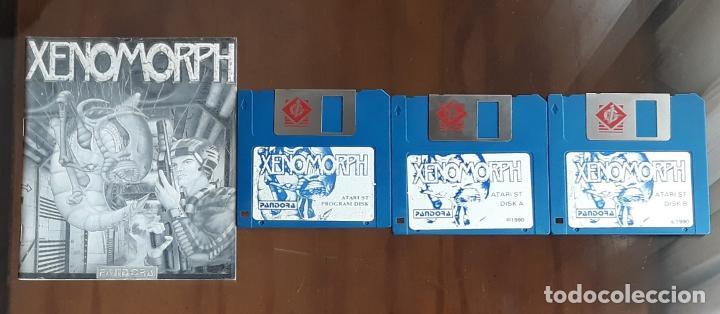 XENOMORPH [PANDORA] - JUEGO ATARI ST - SIN CAJA (Juguetes - Videojuegos y Consolas - Atari)