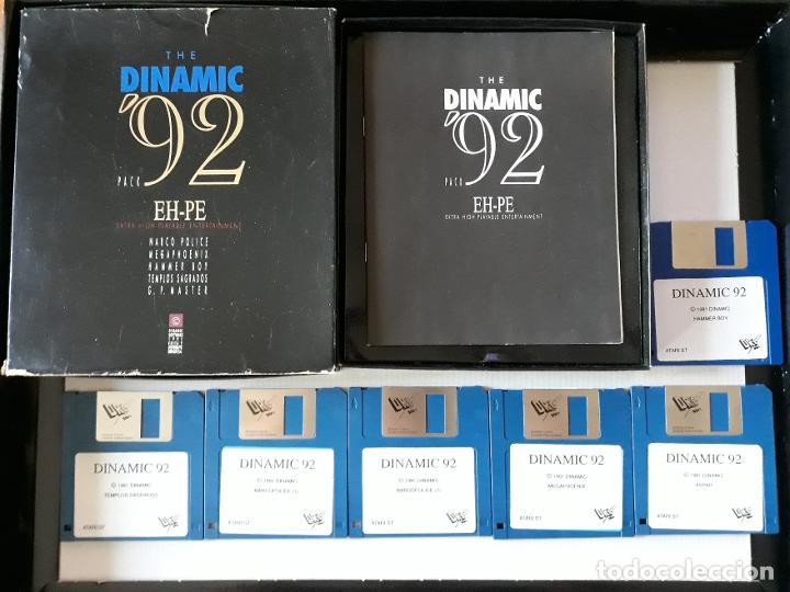 THE DINAMIC '92 PACK (4 JUEGOS - VER DESCRIPCIÓN) [DRO SOFT] - JUEGO ATARI ST - CAJA GRANDE Y FUNDA (Juguetes - Videojuegos y Consolas - Atari)