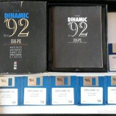 Videojuegos y Consolas: THE DINAMIC '92 PACK (4 JUEGOS - VER DESCRIPCIÓN) [DRO SOFT] - JUEGO ATARI ST - CAJA GRANDE Y FUNDA. Lote 245514850