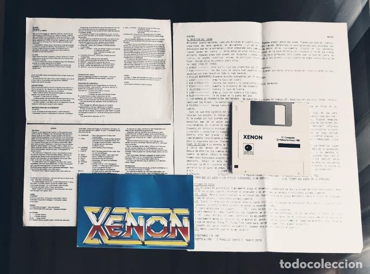 XENON [MELBOURNE HOUSE] - JUEGO ATARI ST - SIN CAJA (Juguetes - Videojuegos y Consolas - Atari)
