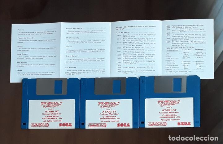 Videojuegos y Consolas: Turbo Out Run – SEGA [U.S. Gold] - Juego ATARI ST - Sin Caja - Foto 2 - 245514860