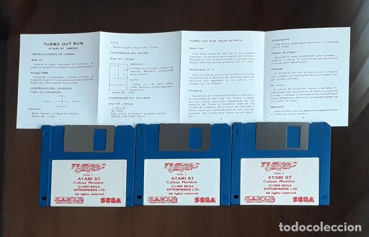 TURBO OUT RUN – SEGA [U.S. GOLD] - JUEGO ATARI ST - SIN CAJA (Juguetes - Videojuegos y Consolas - Atari)
