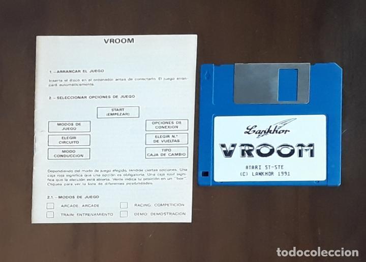 VROOM [LANKHOR] - JUEGO ATARI ST - SIN CAJA (Juguetes - Videojuegos y Consolas - Atari)