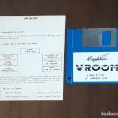 Videojuegos y Consolas: VROOM [LANKHOR] - JUEGO ATARI ST - SIN CAJA. Lote 245514865