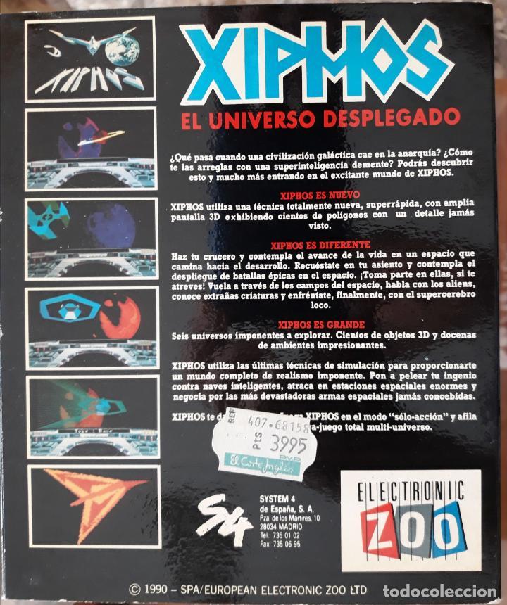 Videojuegos y Consolas: Xiphos [Electronic Zoo] - Juego ATARI ST - Caja Mediana y funda - Foto 2 - 245514870