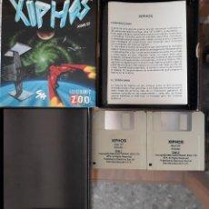 Videojuegos y Consolas: XIPHOS [ELECTRONIC ZOO] - JUEGO ATARI ST - CAJA MEDIANA Y FUNDA. Lote 245514870