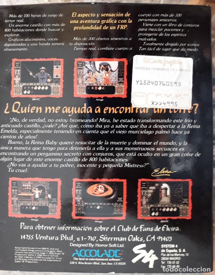 Videojuegos y Consolas: Elvira – La Aventura Fantástica [Accolade] - Juego ATARI ST - Caja Mediana y funda - Foto 2 - 245571905