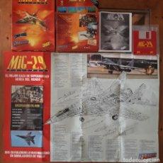 Videojuegos y Consolas: MIG-29 FULCRUM [DOMARK] - JUEGO ATARI ST - CAJA MEDIANA Y FUNDA. Lote 245653600