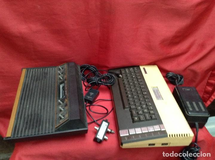 LOTE ATARÍ , 2 CONSOLAS , 4 MANDOS TRANSFORMADOR ,INSTRUCCIONES , (Juguetes - Videojuegos y Consolas - Atari)