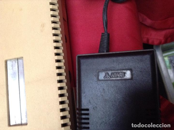 Videojuegos y Consolas: Lote atarí , 2 consolas , 4 mandos transformador ,instrucciones , - Foto 2 - 248095085