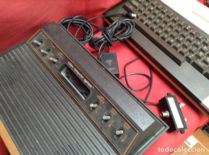 Videojuegos y Consolas: Lote atarí , 2 consolas , 4 mandos transformador ,instrucciones , - Foto 5 - 248095085