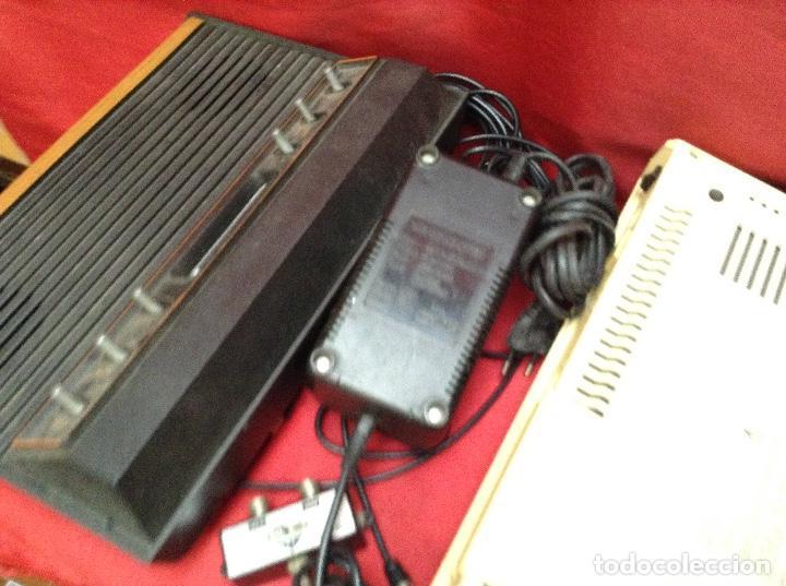 Videojuegos y Consolas: Lote atarí , 2 consolas , 4 mandos transformador ,instrucciones , - Foto 8 - 248095085