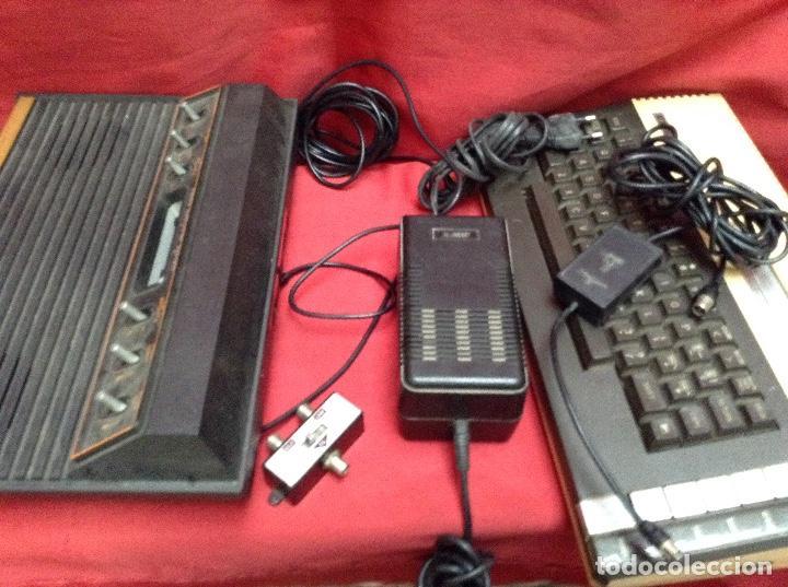 Videojuegos y Consolas: Lote atarí , 2 consolas , 4 mandos transformador ,instrucciones , - Foto 9 - 248095085