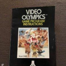 Videojuegos y Consolas: CATALOGO JUEGO ATARI - VIDEO OLYMPICS. Lote 251042730