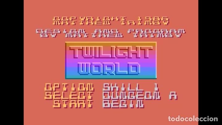 Videojuegos y Consolas: Twilight World [Matthew Trimby] 1986 ATARI U.K. [ATARI 600 / 800 / XL / XE] - Foto 5 - 48305885