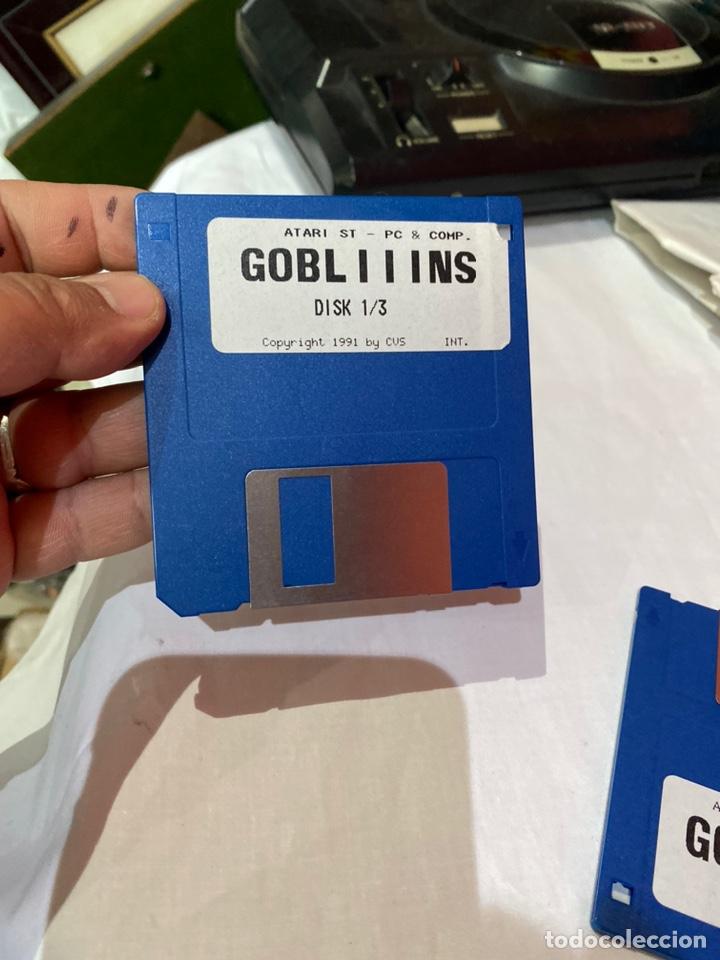 Videojuegos y Consolas: Atari st -Pc-y como. Lote de 3 disquetes gobliiins . Ver fotos - Foto 2 - 252599400