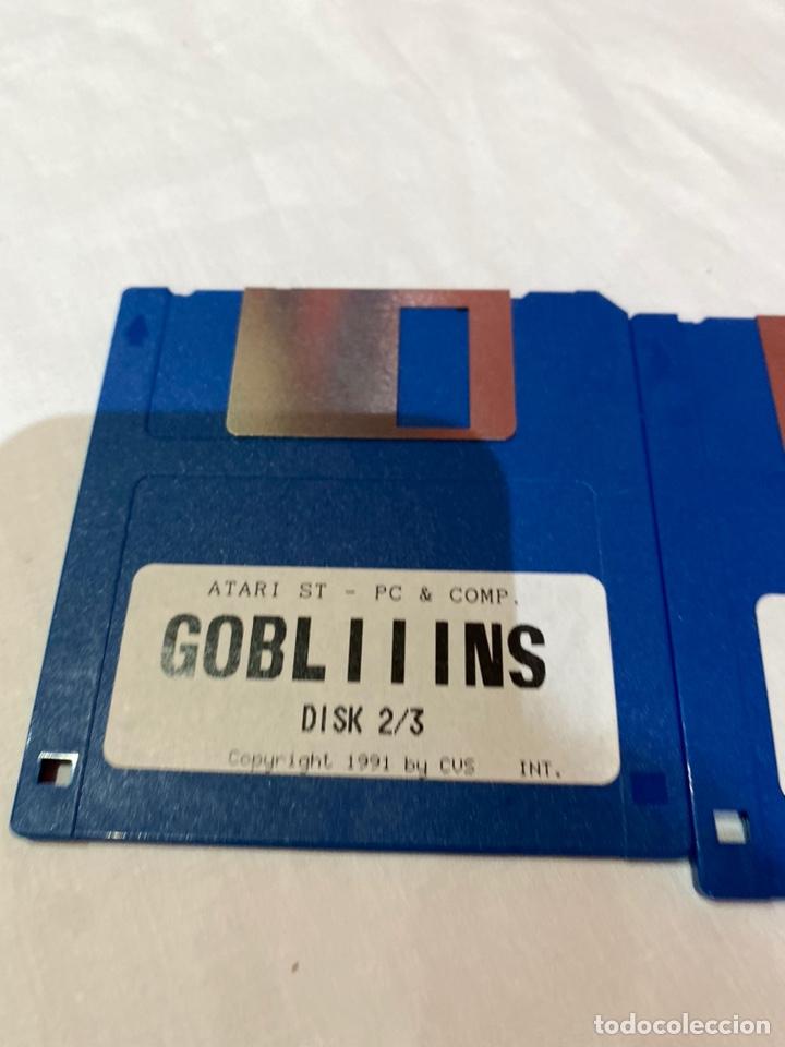 Videojuegos y Consolas: Atari st -Pc-y como. Lote de 3 disquetes gobliiins . Ver fotos - Foto 3 - 252599400