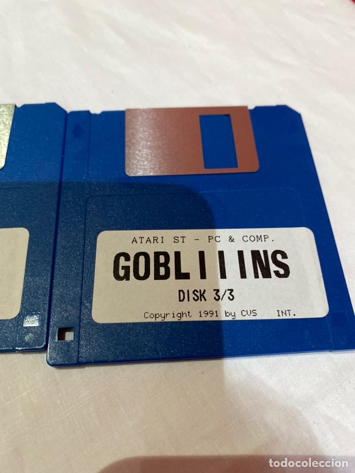 Videojuegos y Consolas: Atari st -Pc-y como. Lote de 3 disquetes gobliiins . Ver fotos - Foto 4 - 252599400