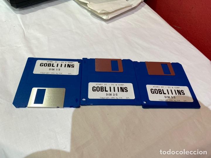 ATARI ST -PC-Y COMO. LOTE DE 3 DISQUETES GOBLIIINS . VER FOTOS (Juguetes - Videojuegos y Consolas - Atari)
