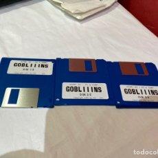 Videojuegos y Consolas: ATARI ST -PC-Y COMO. LOTE DE 3 DISQUETES GOBLIIINS . VER FOTOS. Lote 252599400