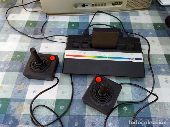 Videojuegos y Consolas: LOTE DE 2 CONSOLAS FUNCIONANDO: ATARI 2600 + MANDOS + CARTUCHOS Y PALSON CX. 303 (CON SU CAJA) - Foto 2 - 253000840