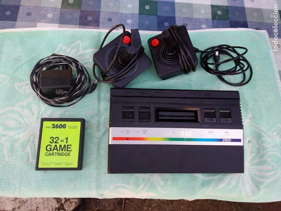 Videojuegos y Consolas: LOTE DE 2 CONSOLAS FUNCIONANDO: ATARI 2600 + MANDOS + CARTUCHOS Y PALSON CX. 303 (CON SU CAJA) - Foto 3 - 253000840