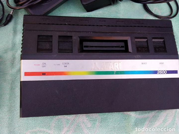Videojuegos y Consolas: LOTE DE 2 CONSOLAS FUNCIONANDO: ATARI 2600 + MANDOS + CARTUCHOS Y PALSON CX. 303 (CON SU CAJA) - Foto 4 - 253000840